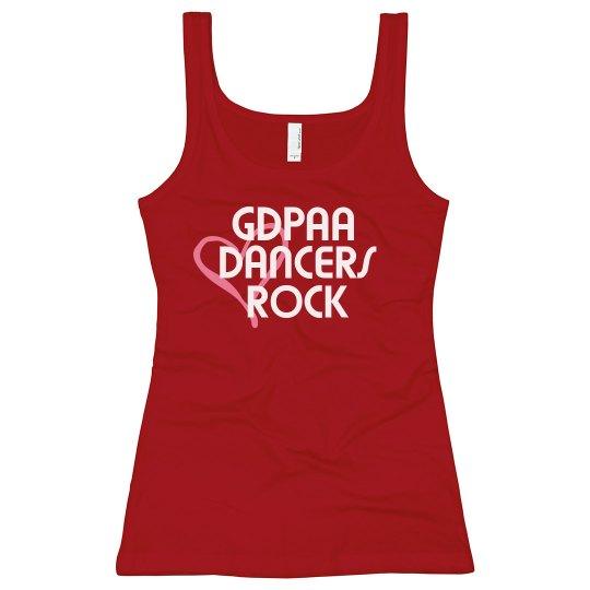 GDPAA Dancers Rock Tank Top