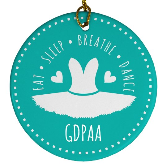 GDPAA Holiday Ornament 2019
