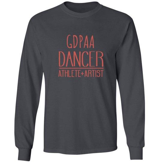 GDPAA Long Sleeve Gray T-shirt