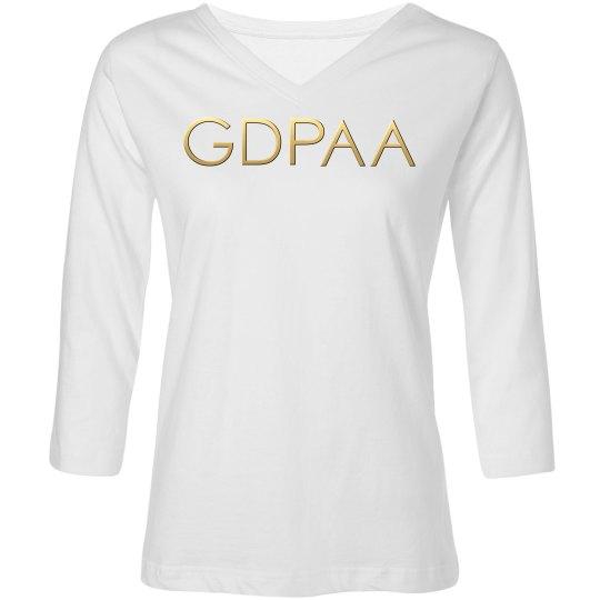 GDPAA Long Sleeve T-shirt Charcoal
