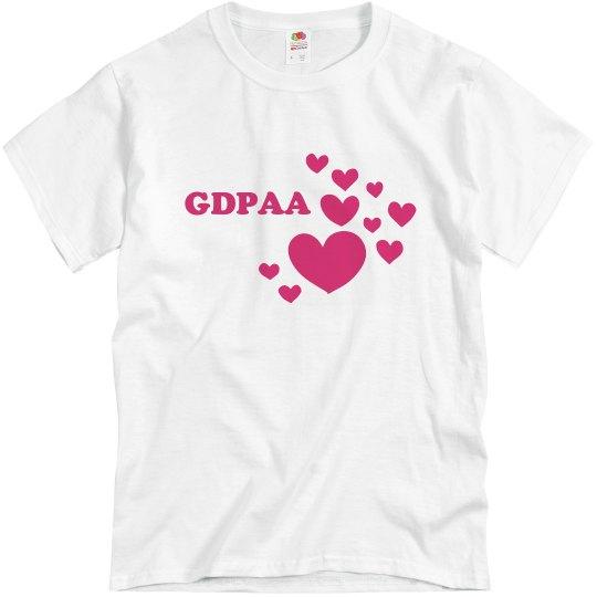 GDPAA Love T-shirt