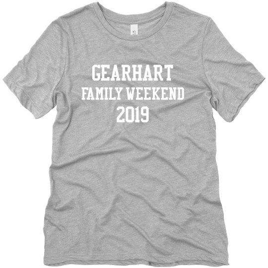 Gearhart Family Weekend Ladies T