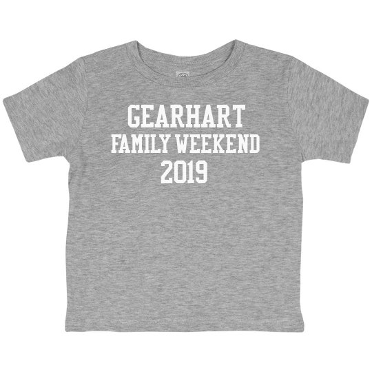 Gearhart Family Weekend Toddler T