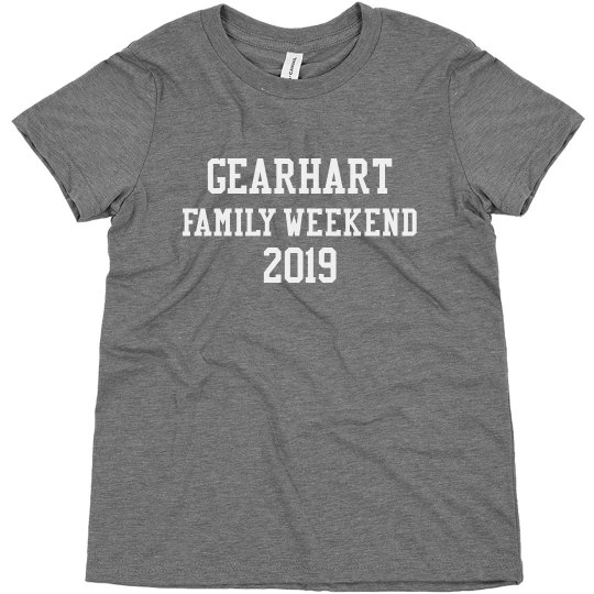 Gearhart Family Weekend Youth T