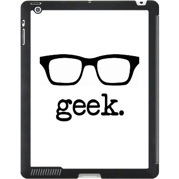 Geek Glasses iPad Case