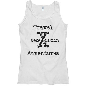 Generation X Travel Tank-Ladies