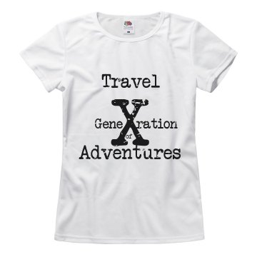 Generation X Travel Tee--Ladies
