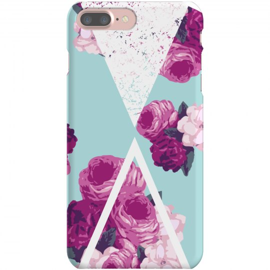 Geometric Floral Phone Case