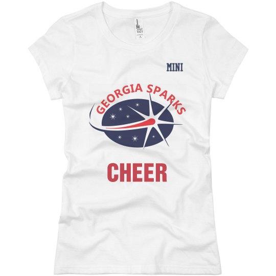 Georgia Sparks Cheer Squad / Senior T