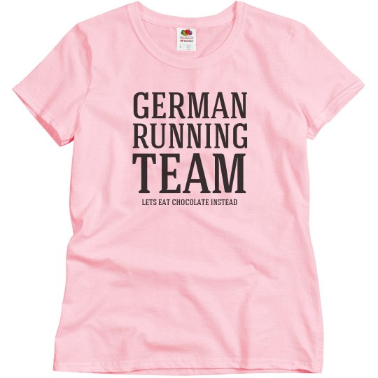 German running team