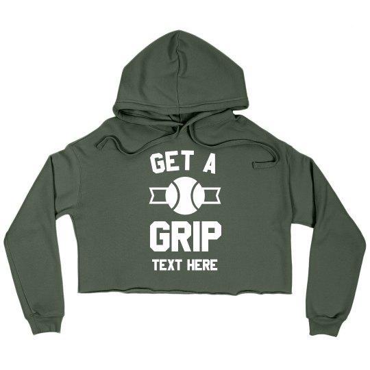 Get a Grip Tennis Crop