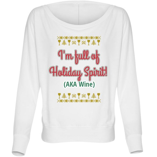 Get into the wine - or spirit!
