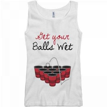 Get Your Pong Balls Wet
