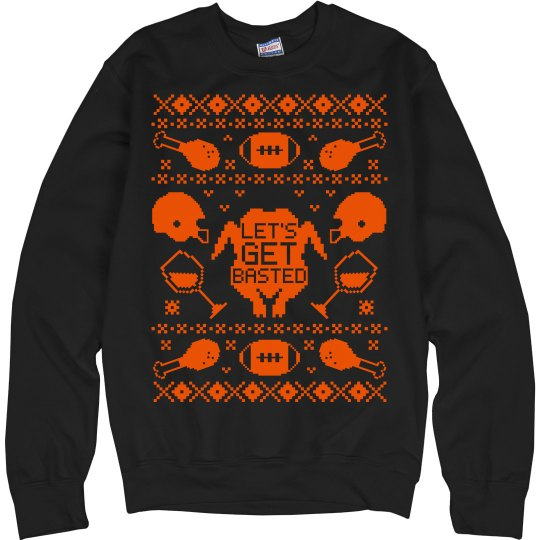 Getting Basted Sweater
