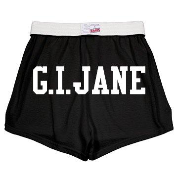 G.I. Jane Derby Shorts