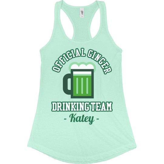 Ginger Drinking Team