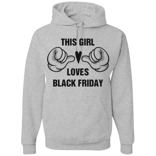 Girl Loves Black Friday