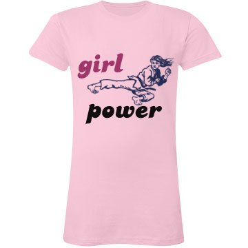 Girl Power Kick!