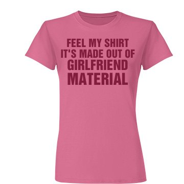 Girlfriend Material Pink