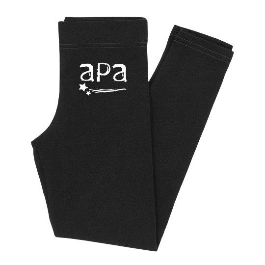 Girls APA Personalized Leggings