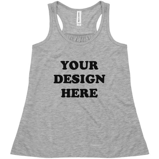 Girls' Custom Fashion Tank Design
