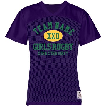 Girls Dirty Rugby Team