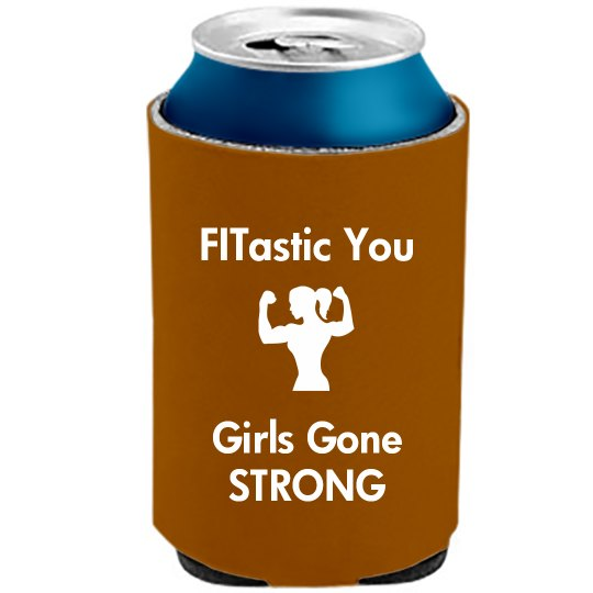 Girls Gone Strong Koozie