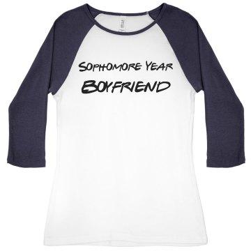 Girls Jr Fit Bella Baseball T Shirt