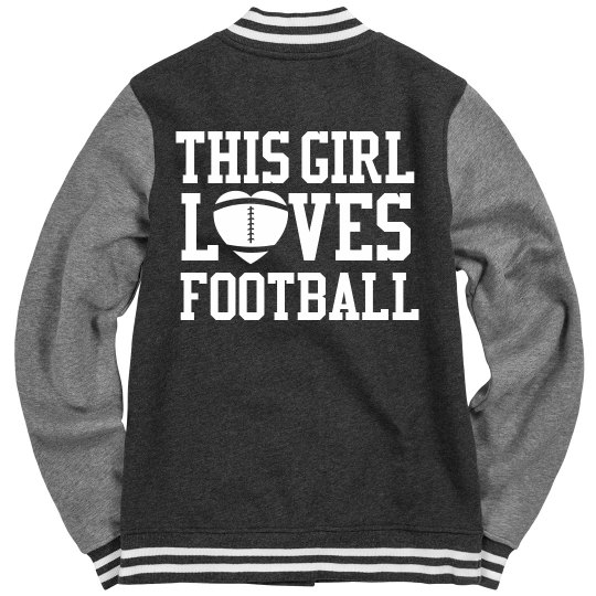 Girl's Love Football