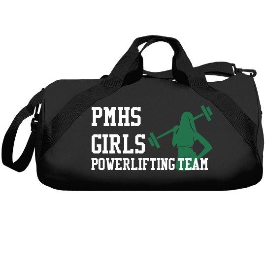 girls powerlifting bag