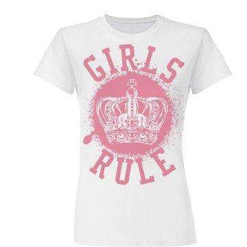 Girls Rule Splat Crown