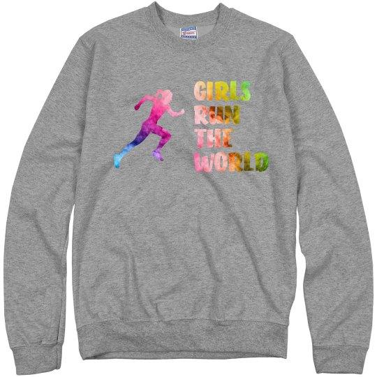 Girls Run The World - Adult - Crewneck