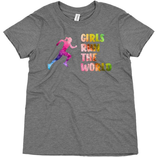 Girls Run The World - Tee