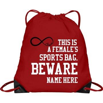 Girls sports bag