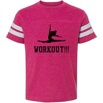 Girls workout shirt
