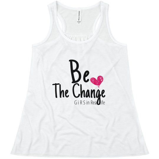 Girls Youth Flowy Racerback Tank