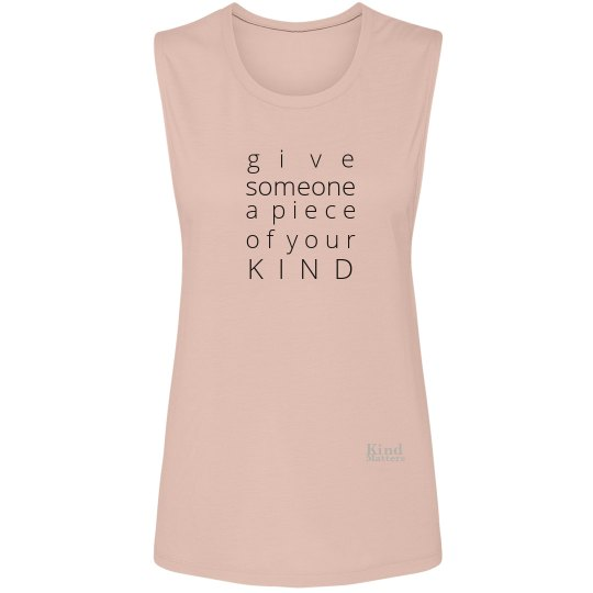 Give a Piece of Mind ladies muscle tee