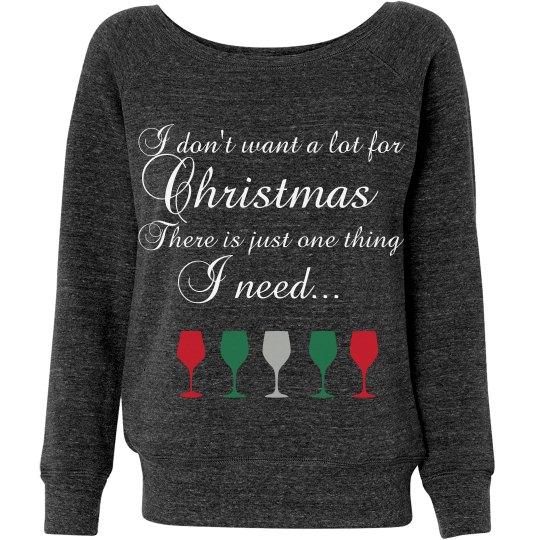 Give me wine