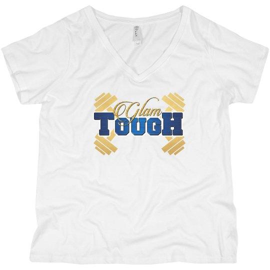 GlamTough Plus Size Women T-shirt