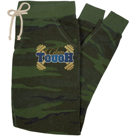 GlamTough Slim Fit Eco-Fleece Jogger