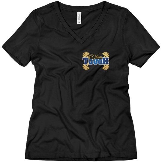 GlamTough V-Neck T-shirt