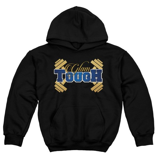 GlamTough Youth Hoodie