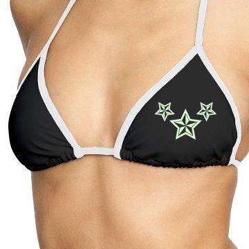 Glow in the dark bikini top