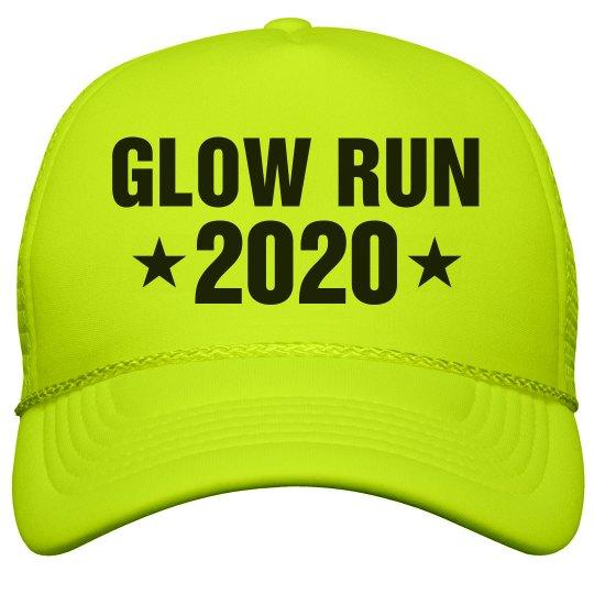 Glow Run Race 2020 Neon Hat