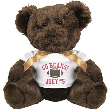 Go Bears Football Bear