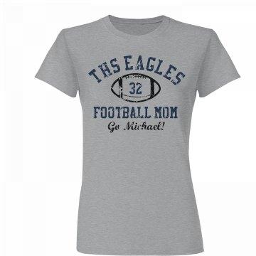 Go Eagles Football Mom