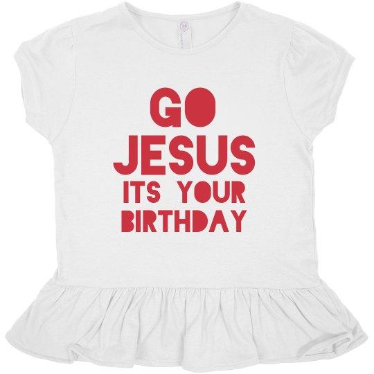Go Jesus Christmas Toddler