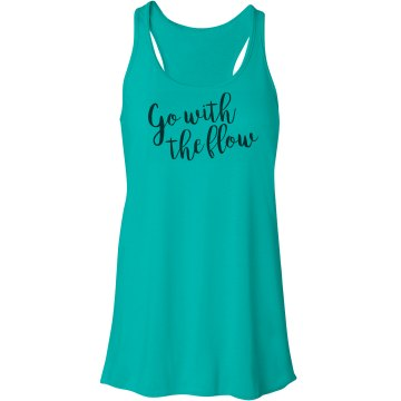 Go with the flow tank top