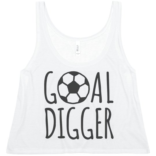 Goal Digger Crop Top