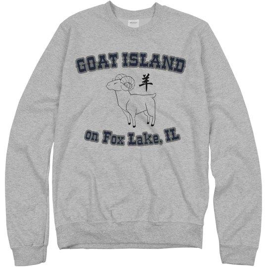 Goat Island Unisex Sweatshirt